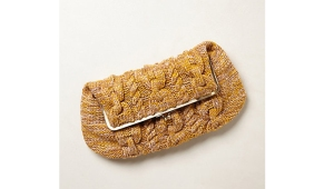 Anthropologie Clutch via Fine and Feathered